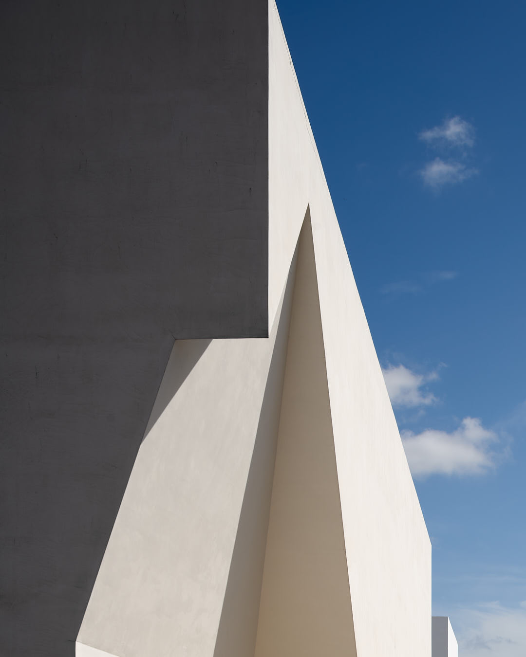 Geometric details of the Granola community centre by Aires Mateus