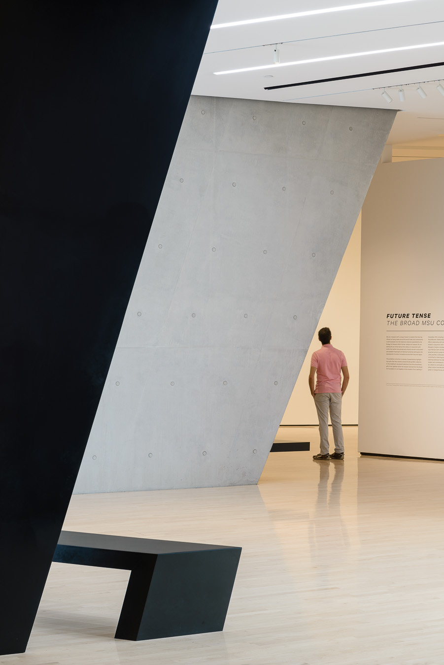 Doublespace Photography Zaha Hadid Architects Broad Museum Lansing - Gallery_Exhibition_Hall