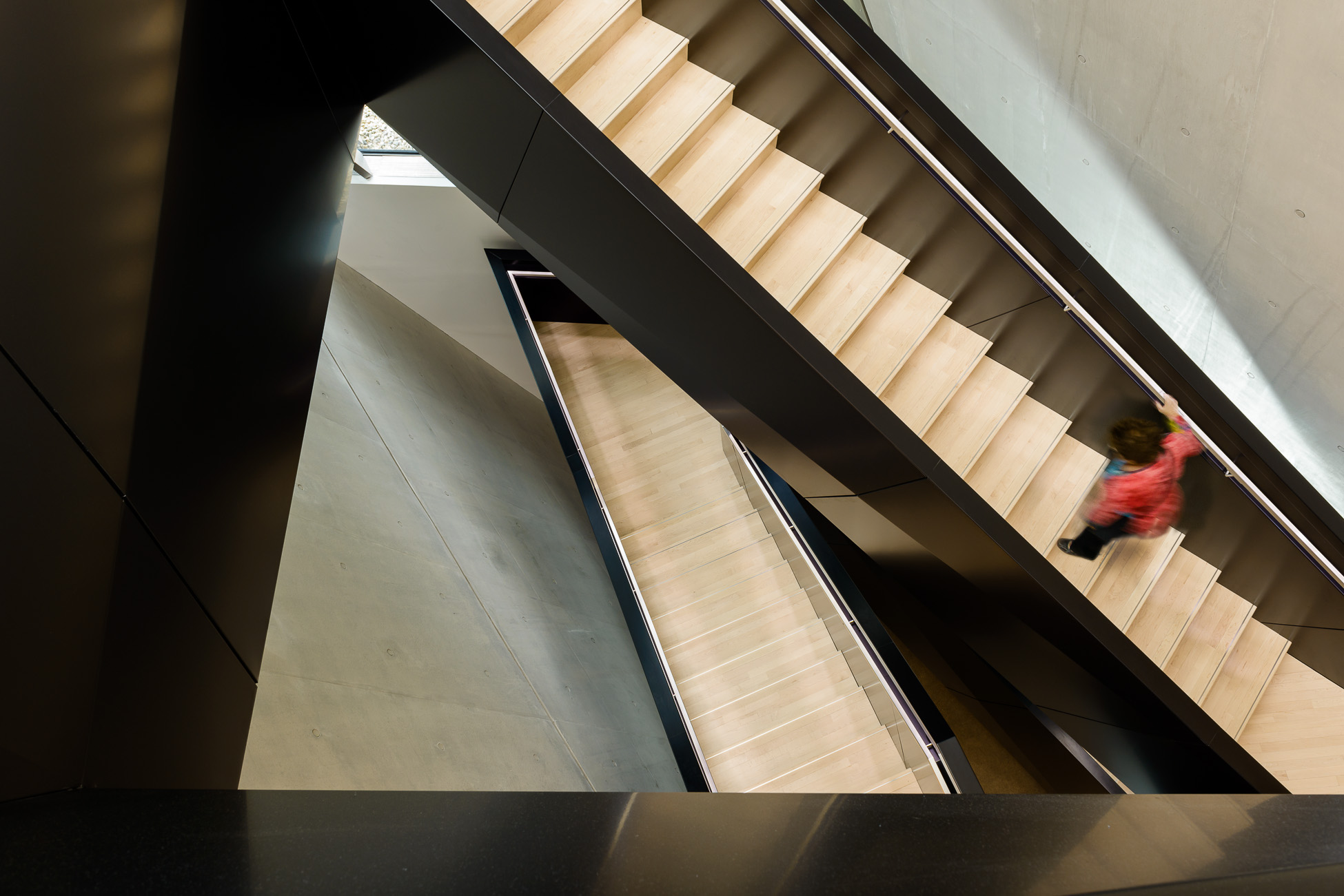 Doublespace Photography Zaha Hadid Architects Broad Museum LansingFeature staircase