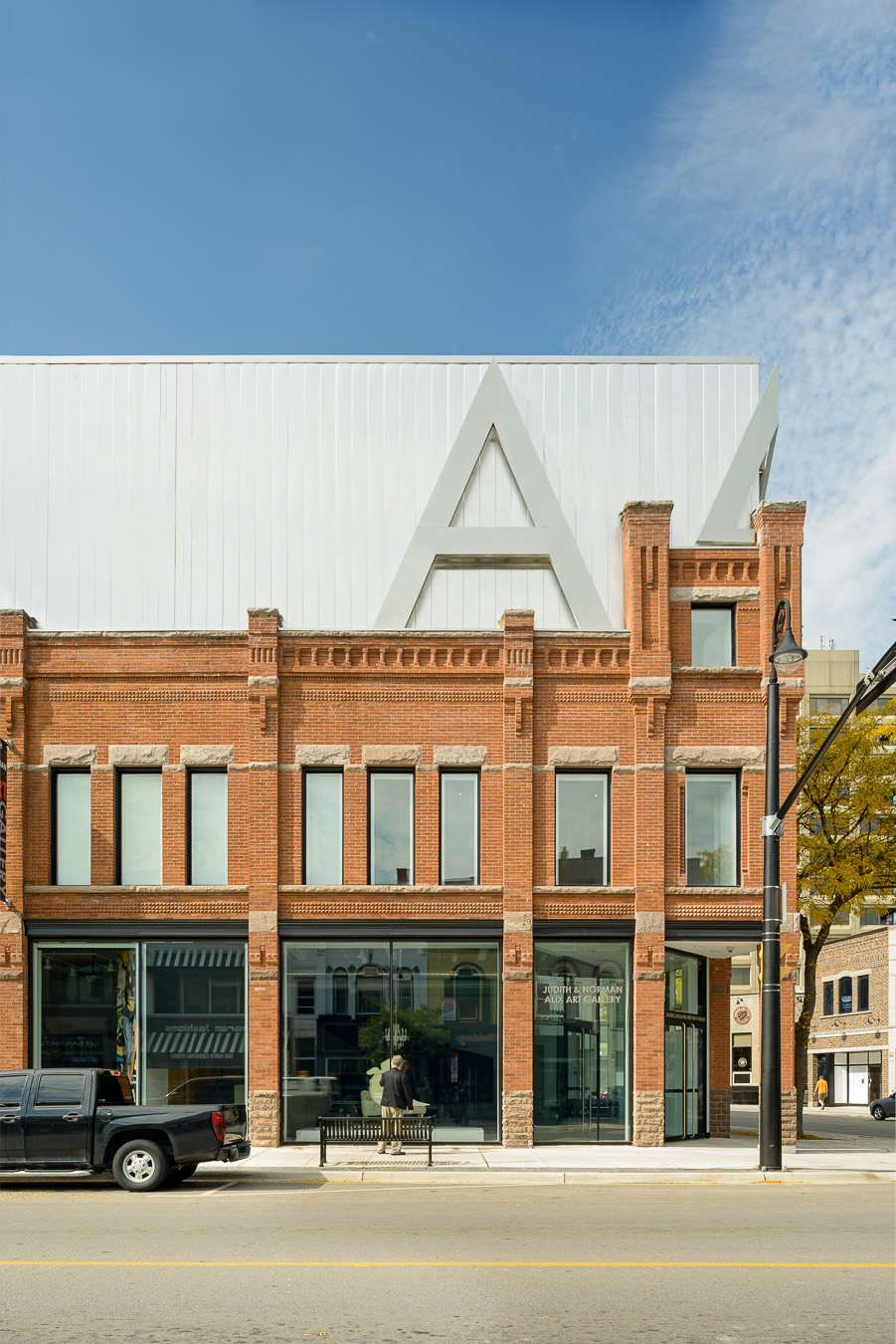 Doublespace Toronto Architectural PhotographyKongats Alix Art Gallery Sarnia exterior elevation