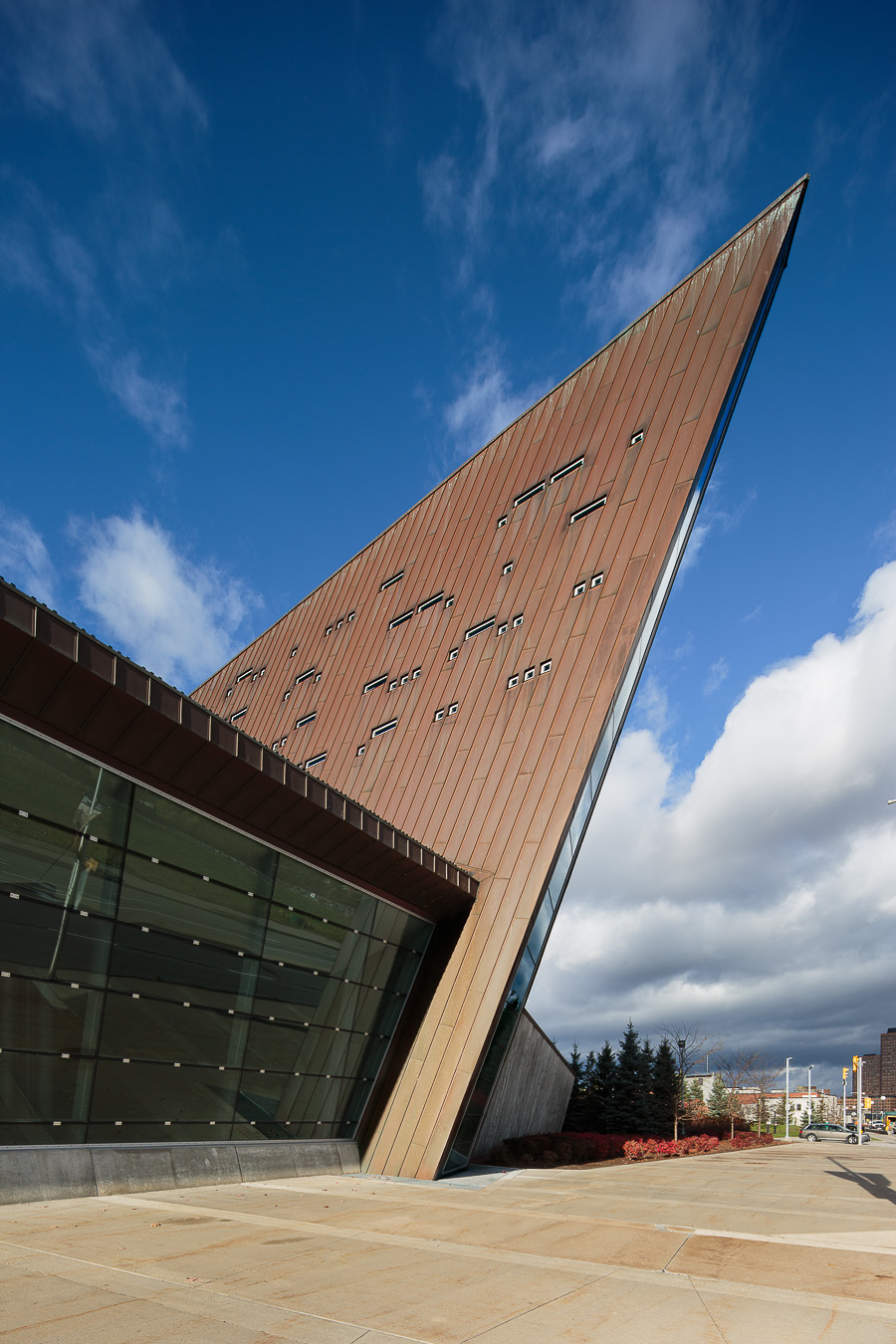 Doublespace Ottawa Architectural Photography Moriyama Teshima GRC Can War Museum exterior
