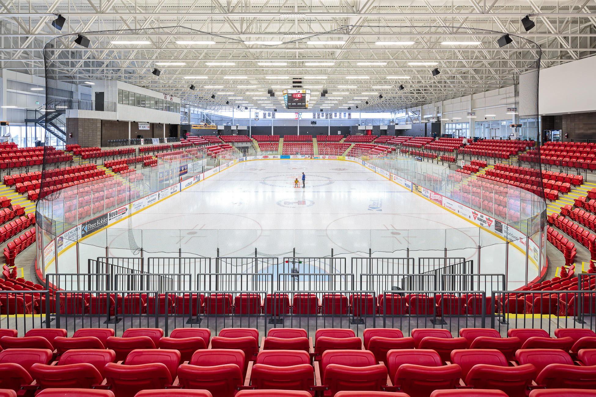 doublespace architecture photography Rath Eastlink Truro Perkins Will arena and hockey rink