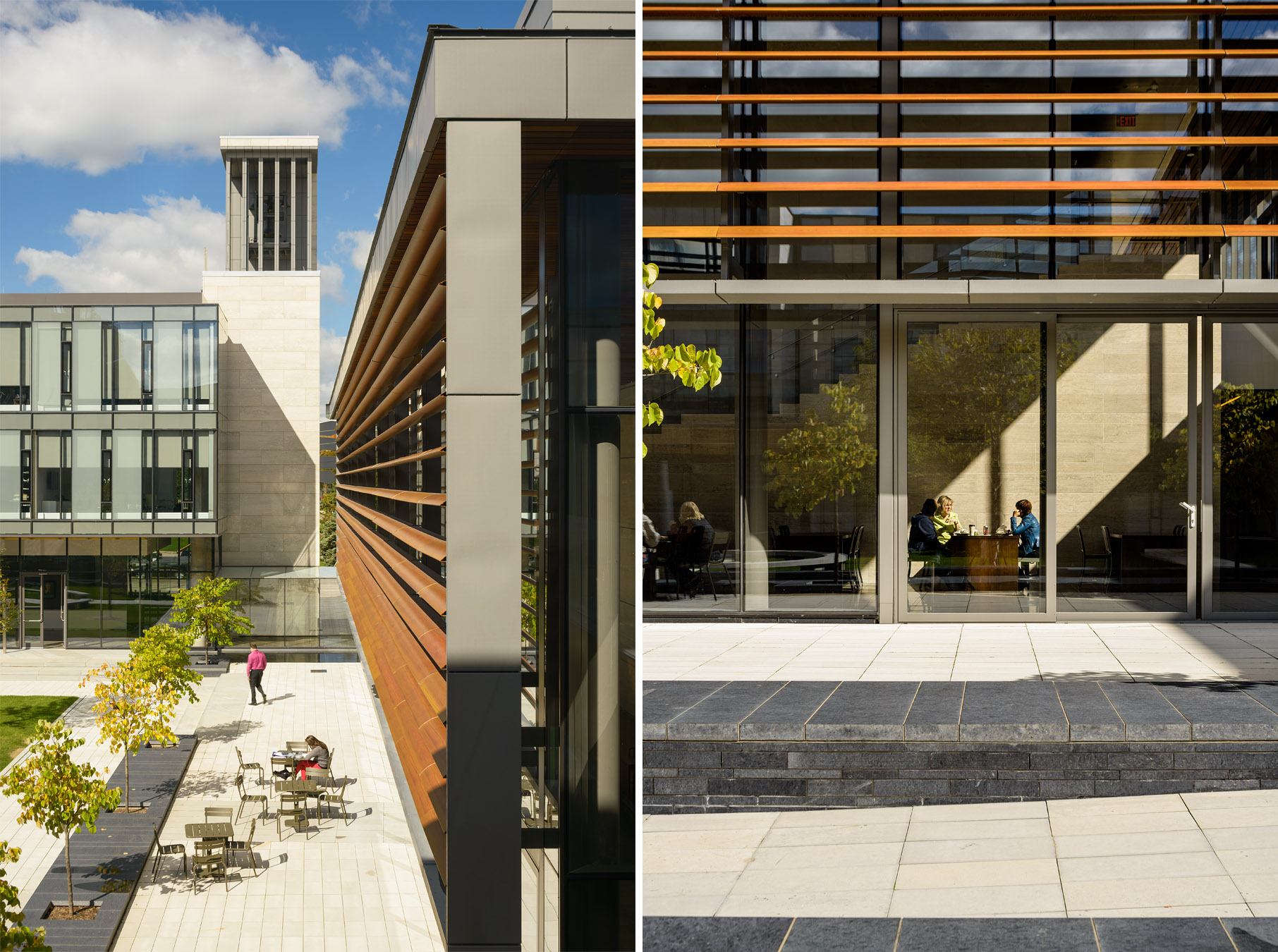 98-KPMB CIGI campus Waterloo Doublespace Toronto Architectural Photography courtyard people.jpg