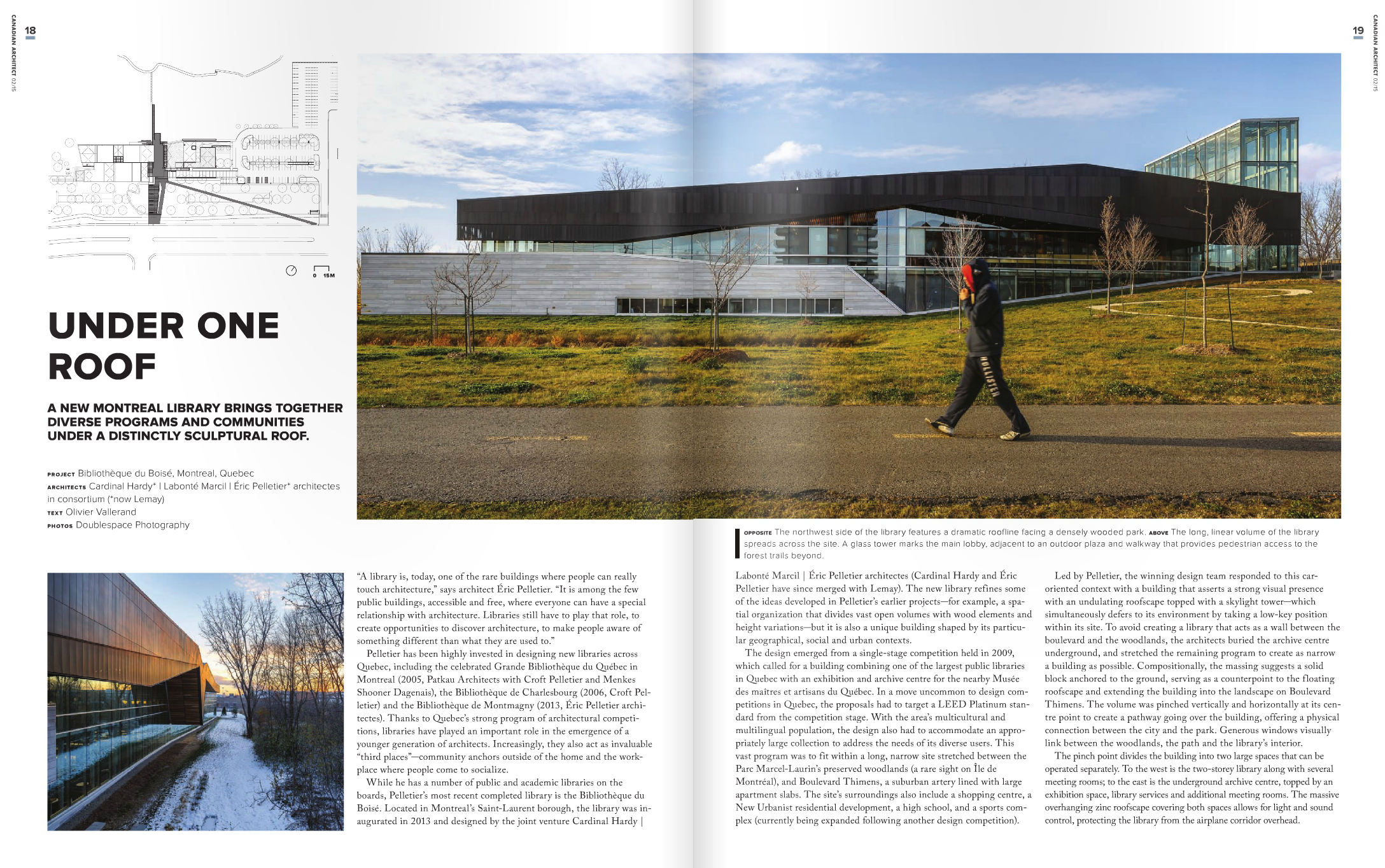 Canadian Architect - March 2015 - Inside 1