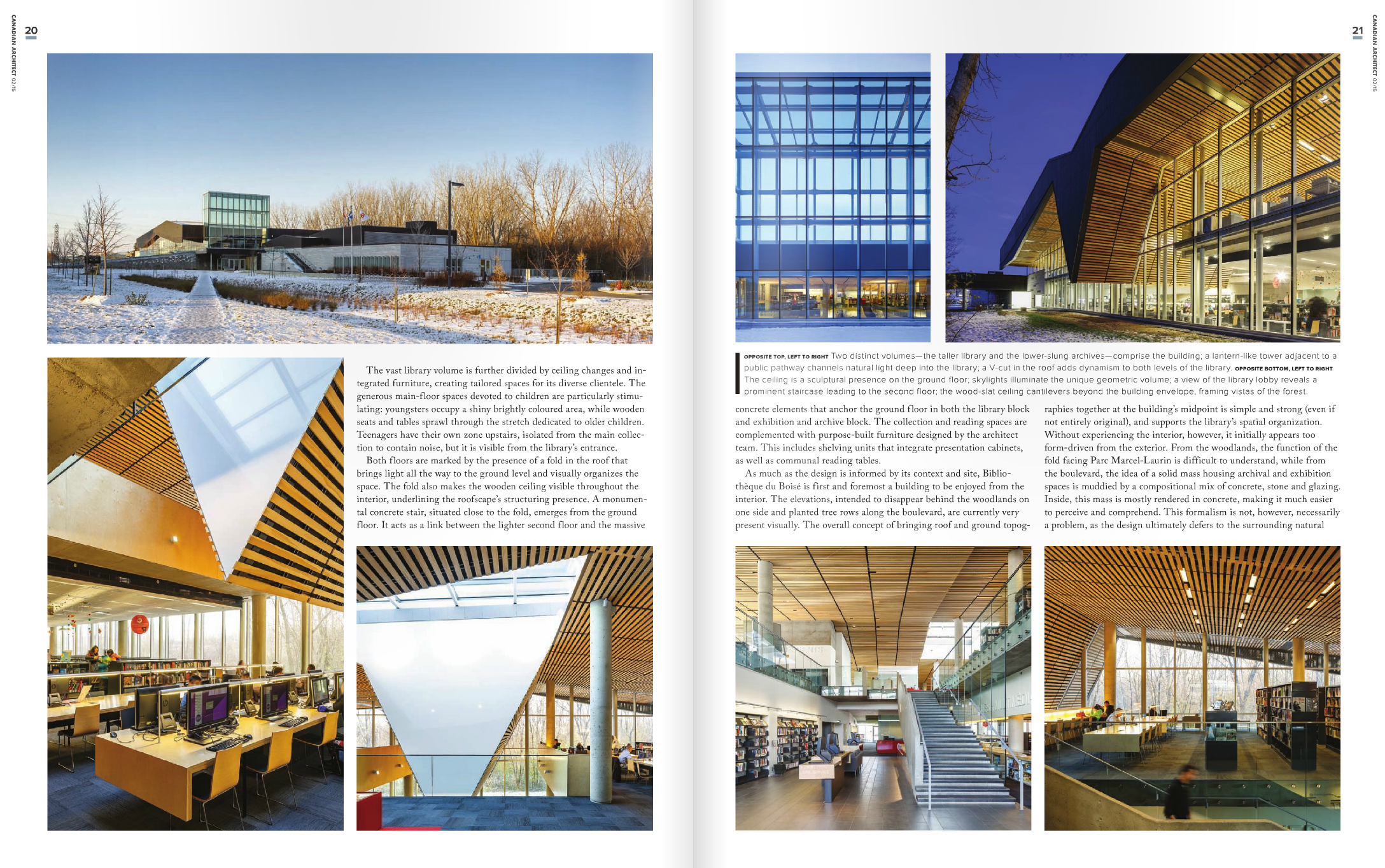 Canadian Architect - March 2015 - Inside 2
