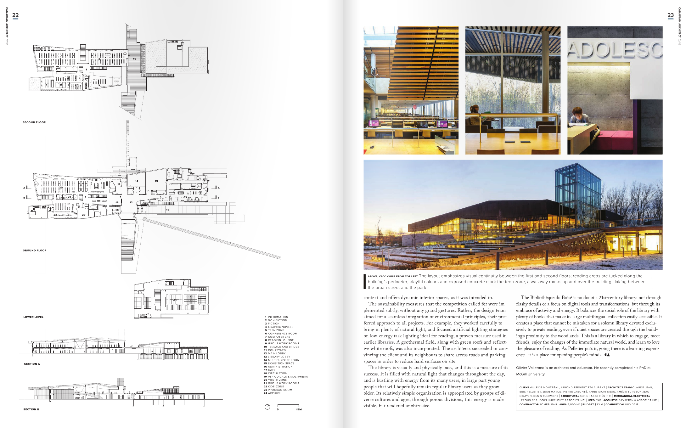 Canadian Architect - March 2015 - Inside 3