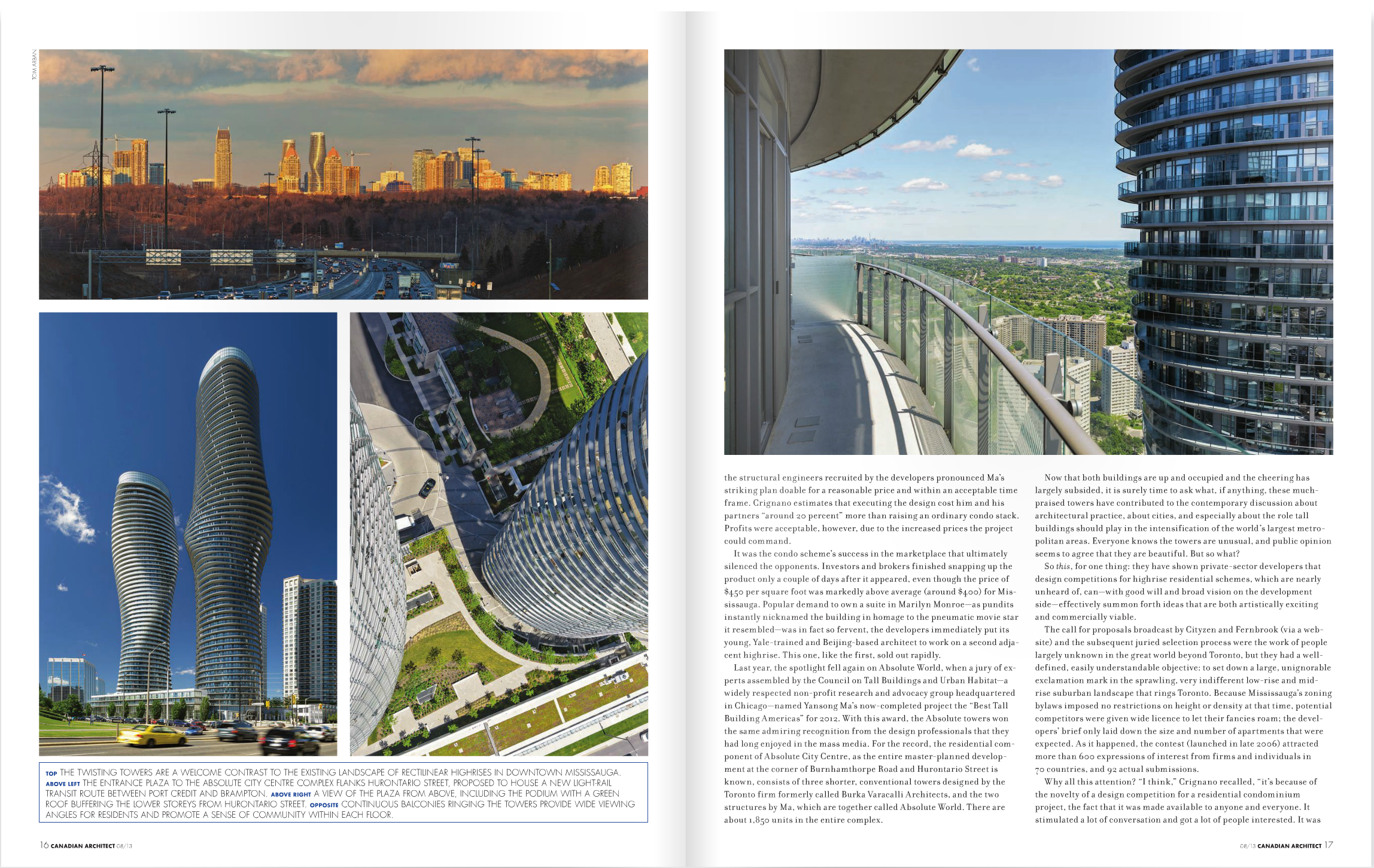 Canadian Architect August 2013 -inside 1