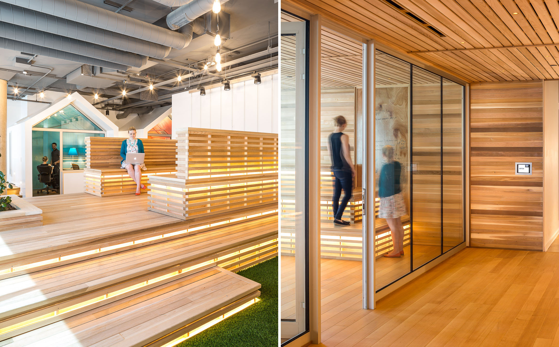 Linebox Shopify Corporate Headquarters Office-diptych