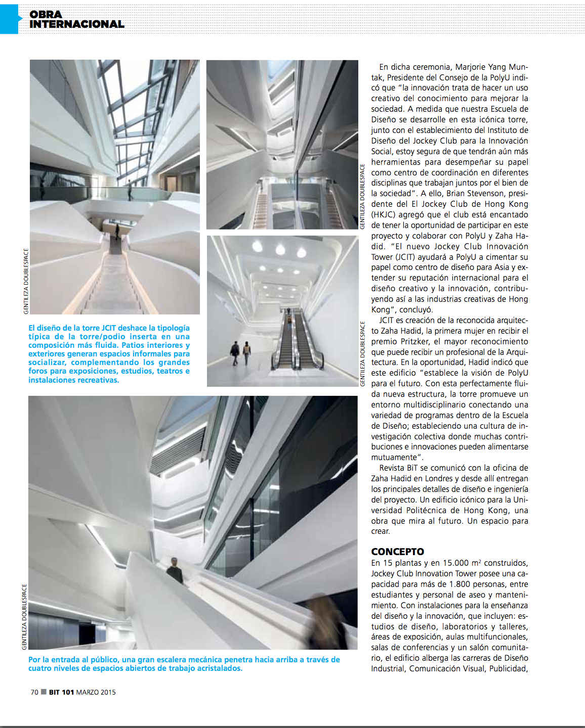 March 2015 - BiT Magazine ZHA 2
